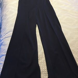 New with tags -Kit and Ace Wide leg navy trousers